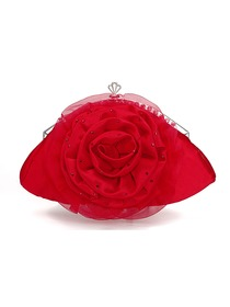 Pretty Clutch Satin Wedding Bags