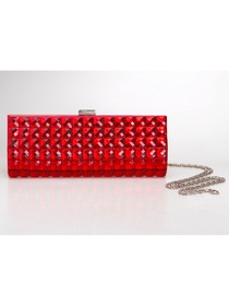 Modern Red PU Formal Evening/Wedding Party Handbag