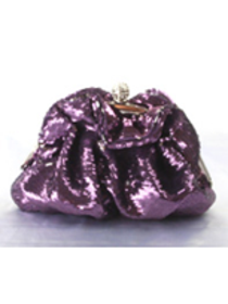 Purple Pretty Sequin Evening Bags