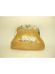 Gorgeous Metallic Evening Bag Handbag Purse