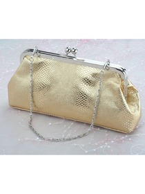 Gorgeous Gold PU Evening Bags