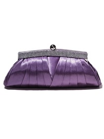 Luxury Lavender Rhinestone Evening Bags/Handbags/Clutches
