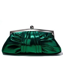 Elegant Green PU Formal Evening Bag/Handbags/Clutches