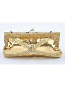 Gorgeous Gold PU Handbag Laides Clutches