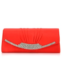 Elegant Rhinestones Satin Evening Bag More Colors Available