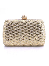 Elegant Gold Glitter Prom Wedding/Evening Party Handbag