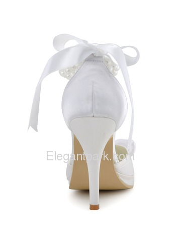 Elegantpark Platforms Stiletto Heel Satin Evening & Party Shoes (EP11074-PF)